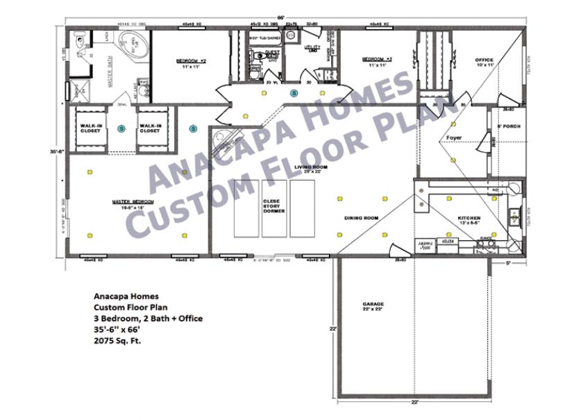 Welcome to anacapa homes for Iowa home builders floor plans